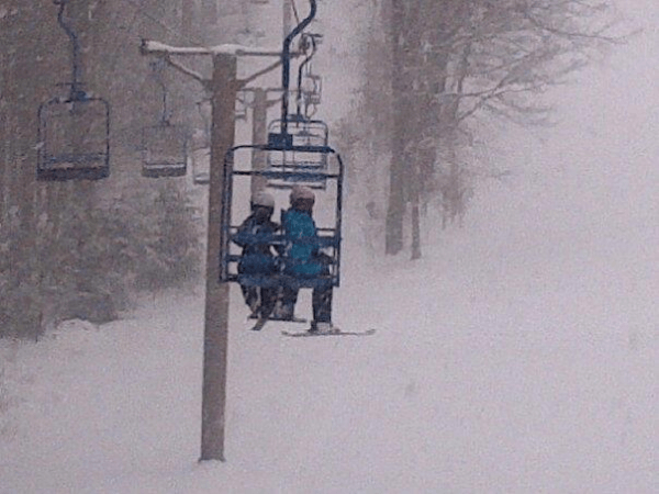 otis ridge chairlift