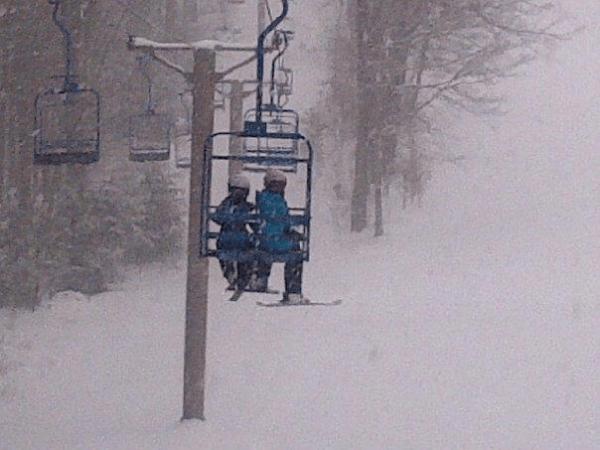 otis ridge chairlift