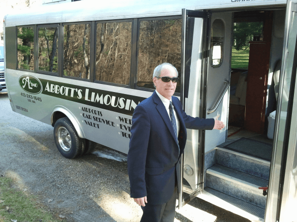 Limo Bus at the Mount